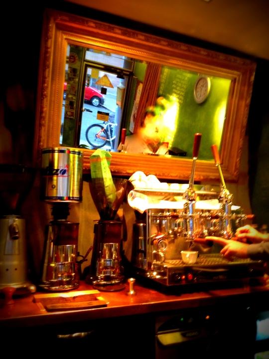 Kaffeemaschine im Kaffino